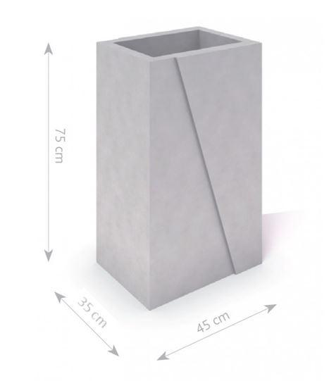 Plac zabaw Donica betonowa DECO 02 PLAY-PARK