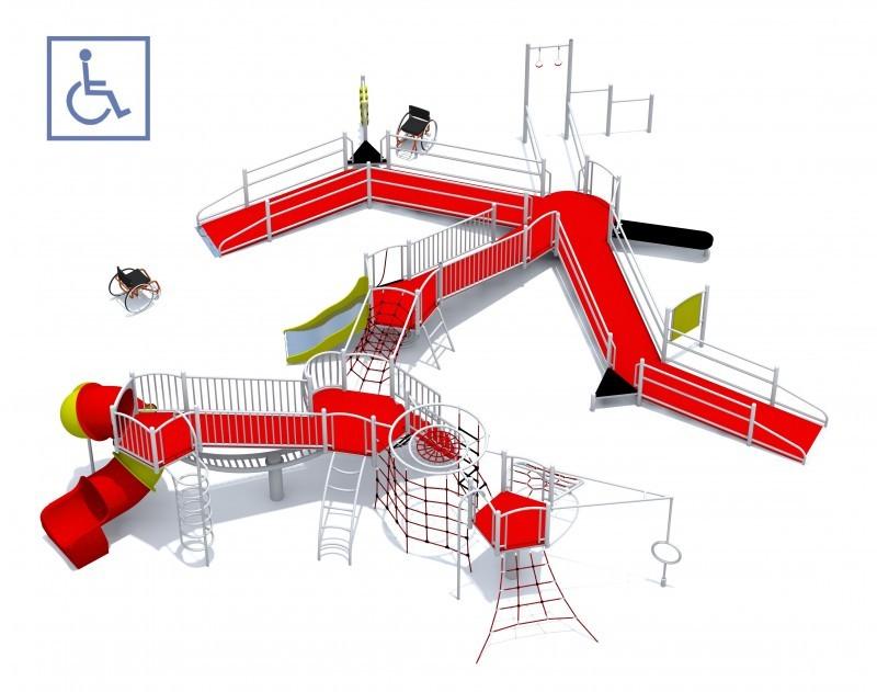 Plac zabaw Zestaw Dragon Play Park