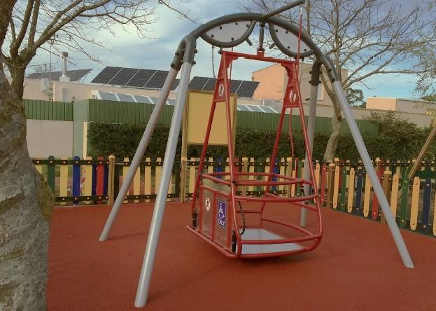 Plac zabaw Huśtawka Saturn PLAY-PARK