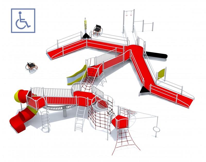 Plac zabaw Zestaw Dragon PLAY-PARK