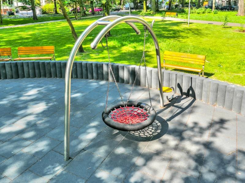 Plac zabaw Huśtawka bocianie gniazdo Birdo PLAY-PARK
