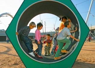 Plac zabaw plac zabaw Karuzela Chomik Play Park