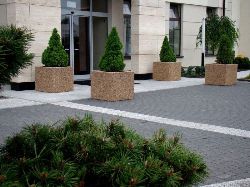 Plac zabaw Donica betonowa 08 PLAY-PARK