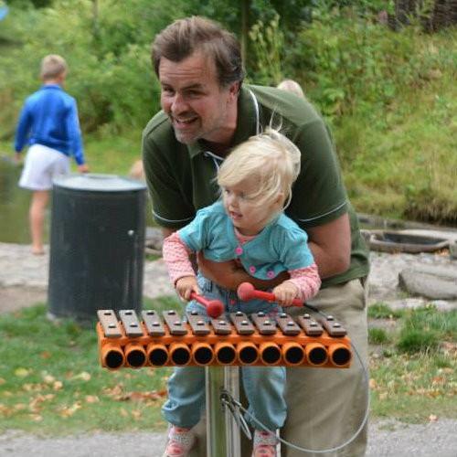 Plac zabaw Instrument muzyczny Kadenco PLAY-PARK