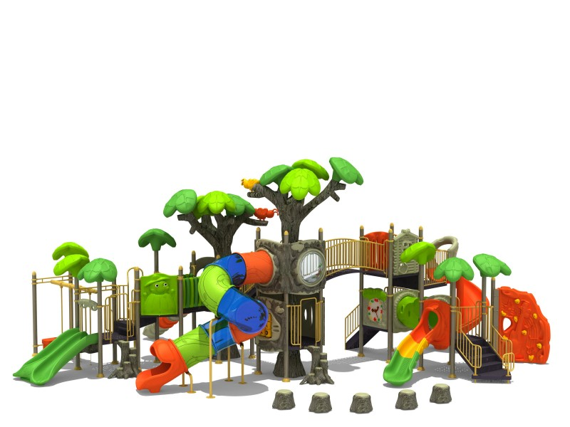 Zjeżdżalnia dla dzieci Zestaw Las 9