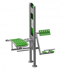 INTER-FUN - Sit-up board / Back extencion