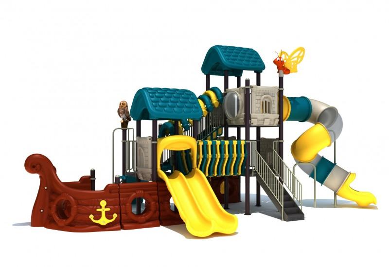 KATEGORIA Plac zabaw zjeżdżalnia Zestaw Statek Piracki 5