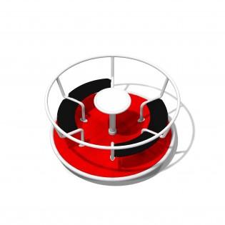 PLAY-PARK - Karuzela Tornado - 4 siedziska