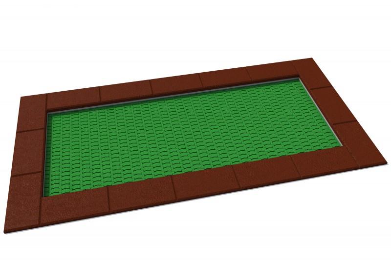 KATEGORIA Plac zabaw metalowe Trampolina Orta 150 x 300