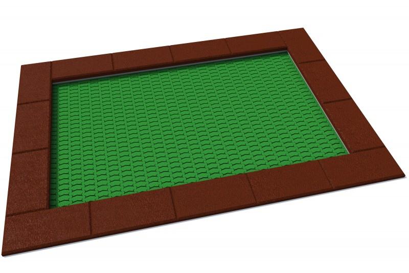 KATEGORIA Plac zabaw metalowe Trampolina Orta 175 x 250