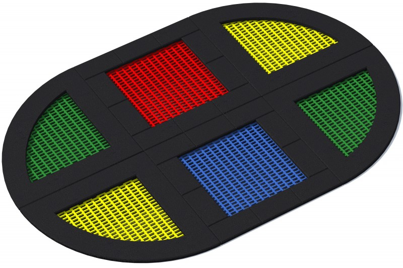 KATEGORIA  Wyposażenie placu zabaw Trampolina Tuto 11