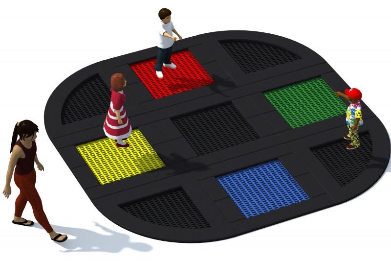Urządzenia Na Plac Zabaw Trampolina Tuto 12
