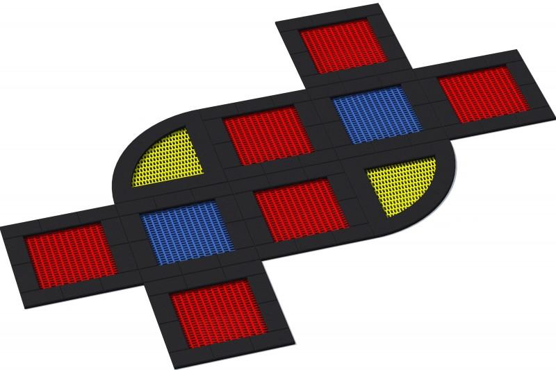 KATEGORIA  Wyposażenie placu zabaw Trampolina Tuto 20