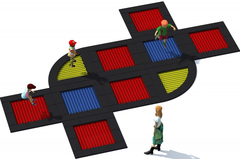 Urządzenia Na Plac Zabaw Trampolina Tuto 20