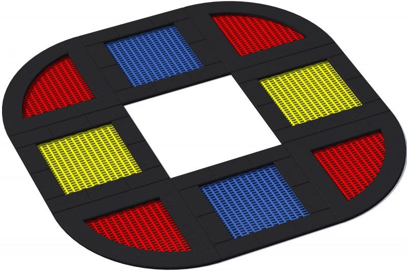 KATEGORIA  Wyposażenie placu zabaw Trampolina Tuto 22