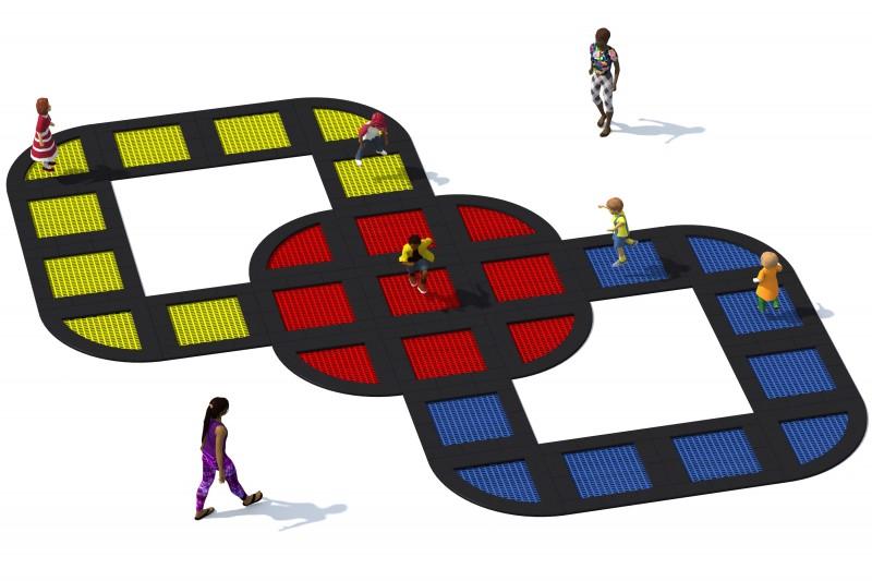 Urządzenia Na Plac Zabaw Trampolina Tuto 25