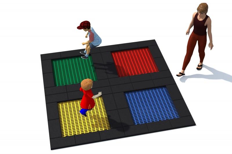 Urządzenia Na Plac Zabaw Trampolina Tuto 6