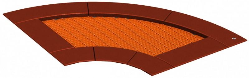 Trampolina na plac zabaw Trampolina 90 - element...