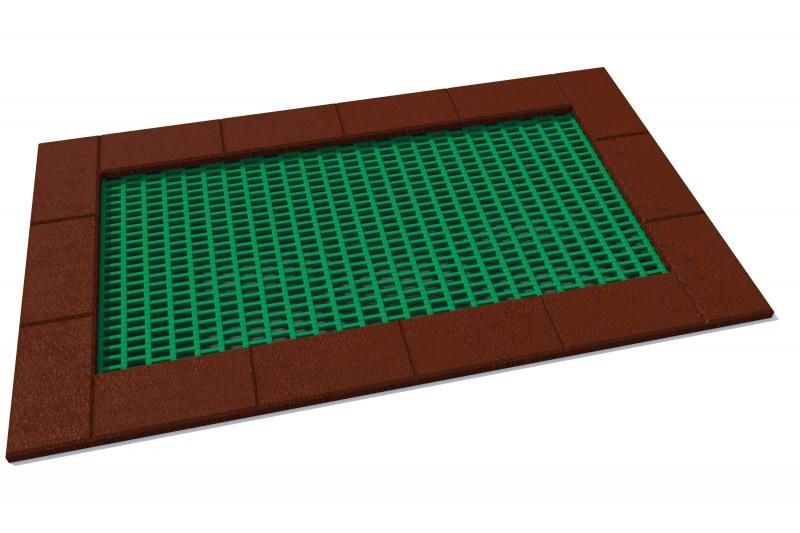 KATEGORIA  Wyposażenie placu zabaw Trampolina Orta 150 x 250