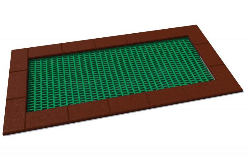 KATEGORIA  Wyposażenie placu zabaw Trampolina Orta 150 x 300