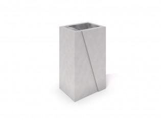 Kosz betonowy DECO  B 01
