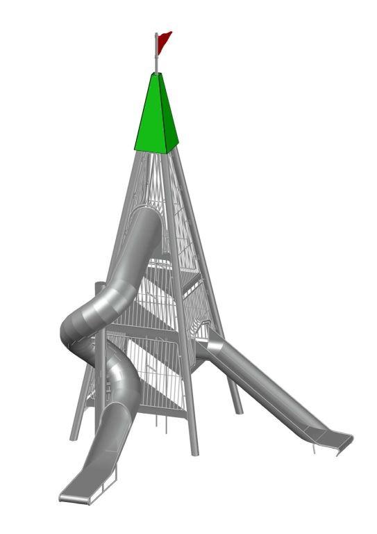 Plac zabaw Zestaw Wieża 3 Play Park