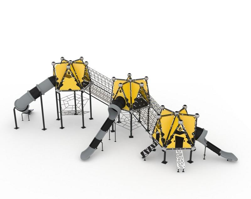 Play Park - Domki na place zabaw Domek Indiański 24