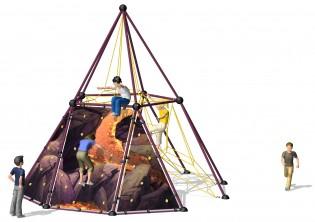 Wyposażenie placu zabaw Linarium Skyclimber VULCANO