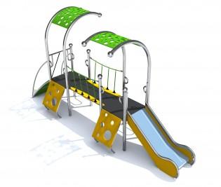 Wyposażenie placu zabaw Dometo 2-1