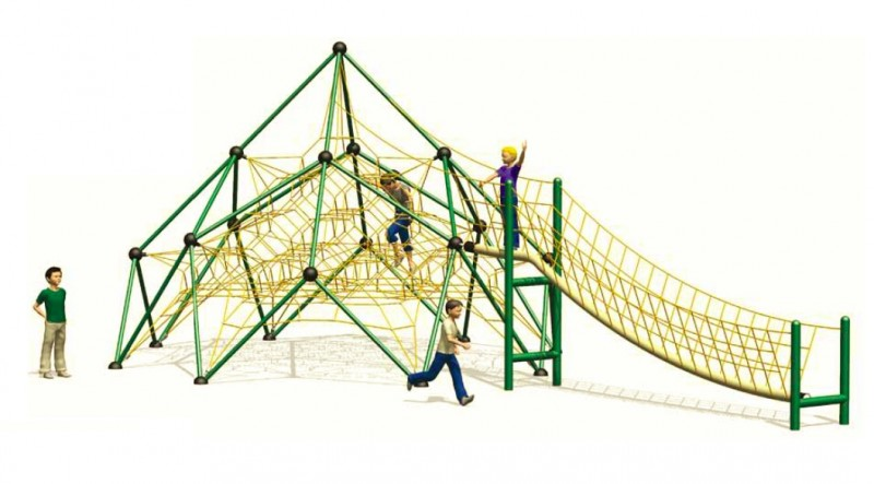 Plac zabaw Zabawki na plac zabaw Linarium Dufourspitze 1 Play Park