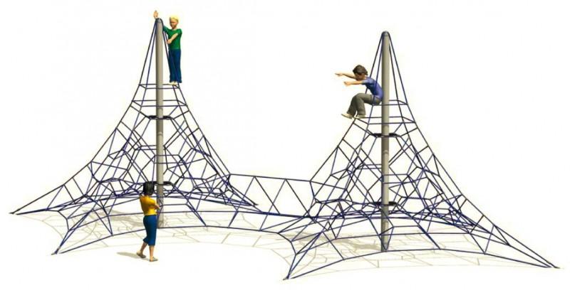 Plac zabaw Zabawki na plac zabaw Linarium Vaalserberg 2 Play Park