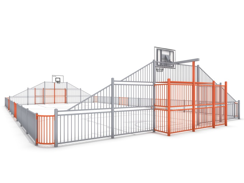 Plac zabaw ARENA 3 (21x12m) PLAY-PARK
