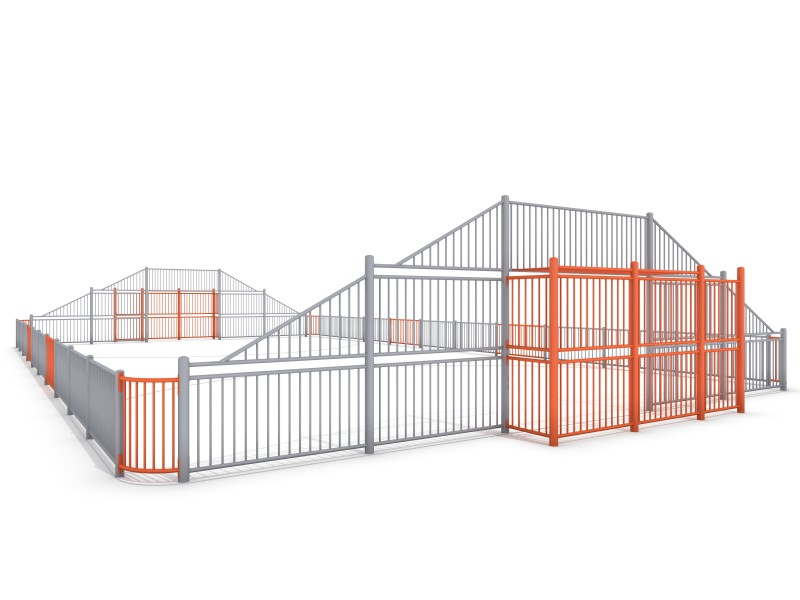 Plac zabaw ARENA 3a (21x12m) PLAY-PARK