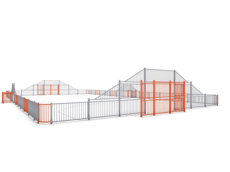 Plac zabaw ARENA 5a (29x16m) PLAY-PARK