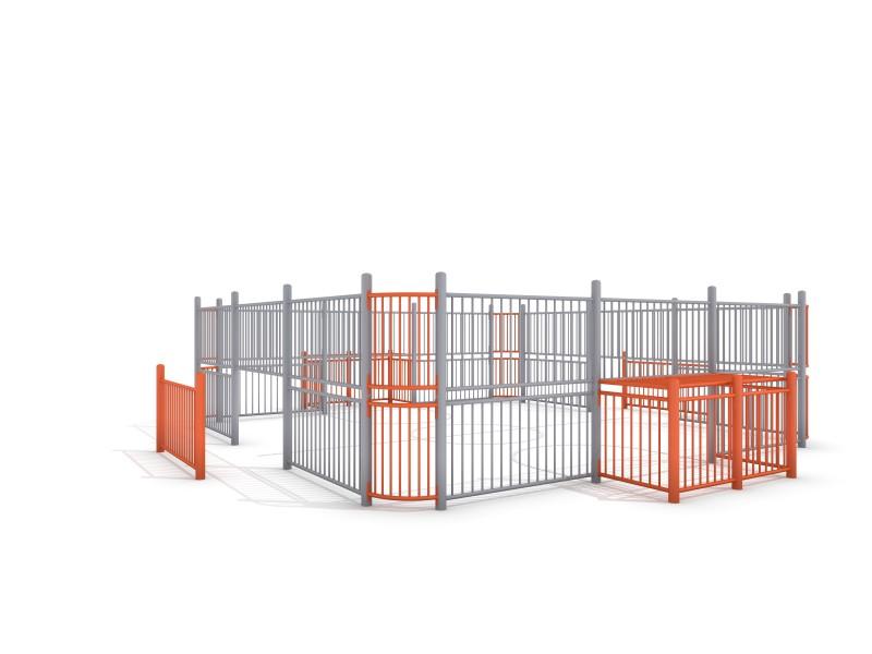 Plac zabaw SOCCER RING 1 (7x7m) PLAY-PARK