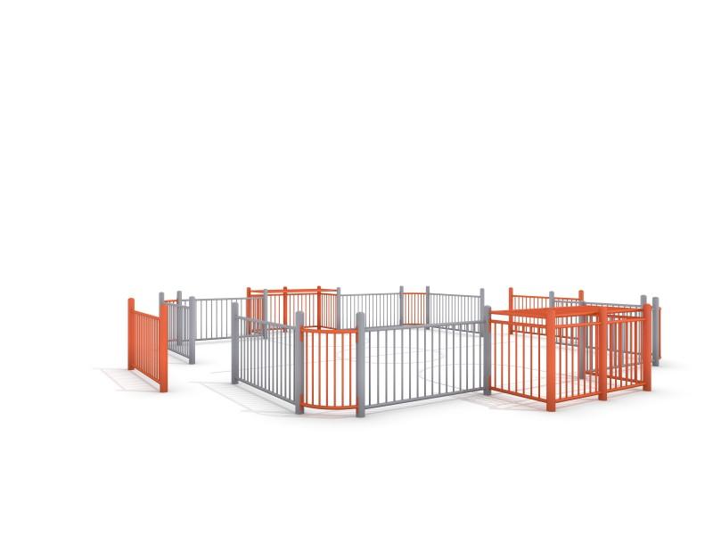 Plac zabaw SOCCER RING 2 (7x7m) PLAY-PARK
