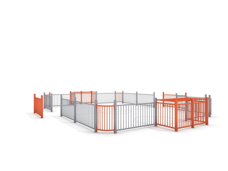 Plac zabaw SOCCER RING 4 (9x7m) PLAY-PARK