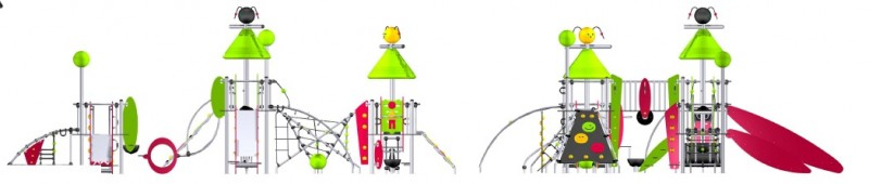 Plac zabaw Zestaw Les Maldives  Play Park