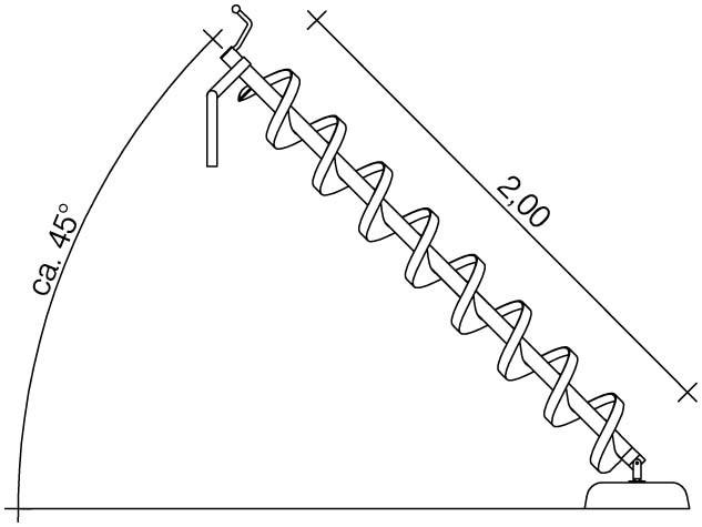 Plac zabaw Śruba Archimedesa 2,0 m PLAY-PARK