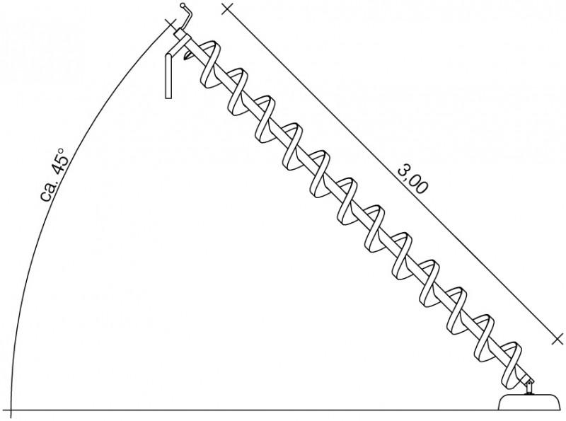 Plac zabaw Śruba Archimedesa 3,0 m PLAY-PARK