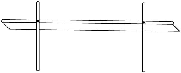 Plac zabaw Rynna z odpływem bocznym  2,4 m PLAY-PARK