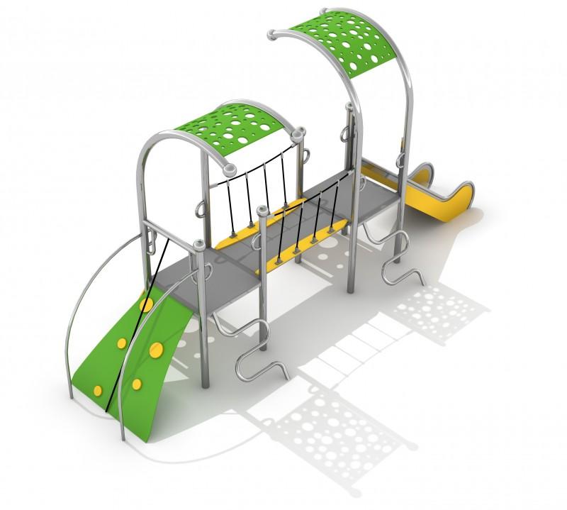 Plac zabaw Zestaw Dometo 2-1 Play Park