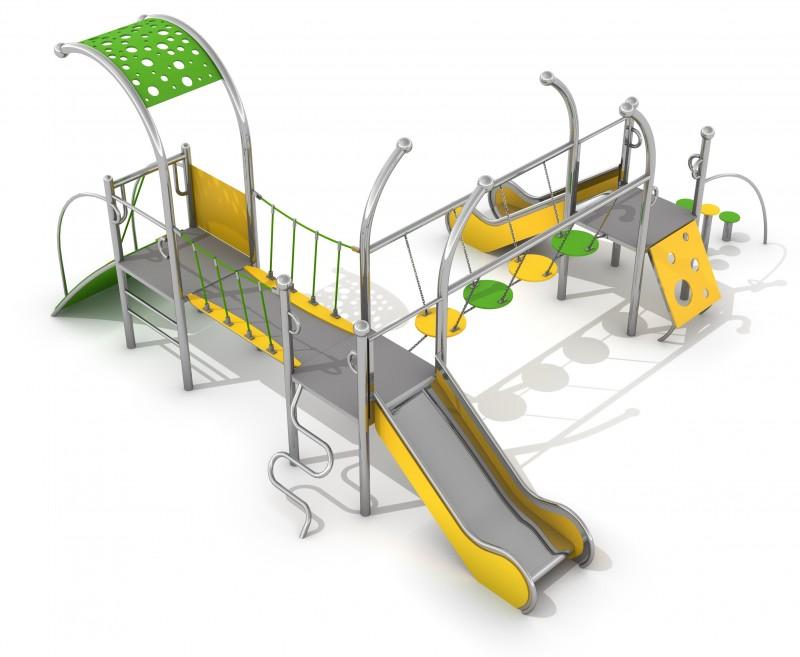 Plac zabaw Zestaw Dometo 3-1 Play Park