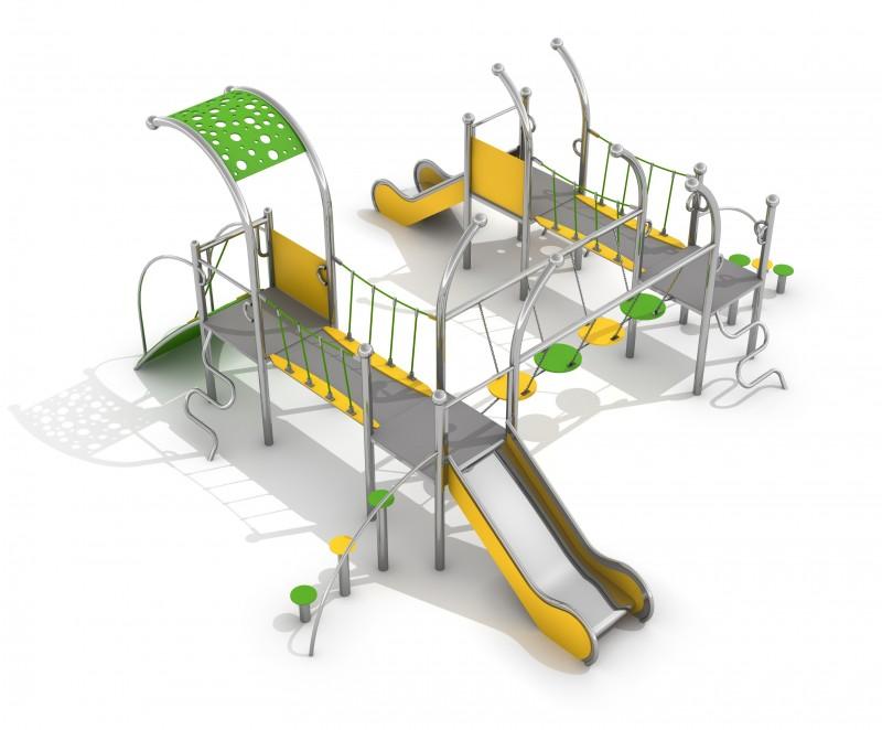 Plac zabaw Zestaw Dometo 4-1 Play Park