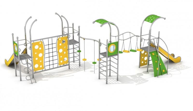 Plac zabaw Zestaw Domo 4-1 Play Park