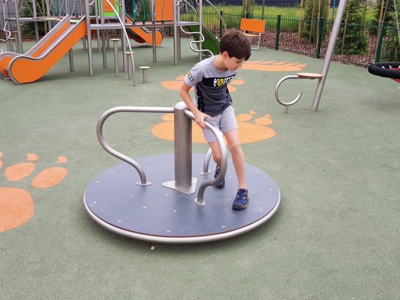 Plac zabaw plac zabaw karuzela Platformo Play Park