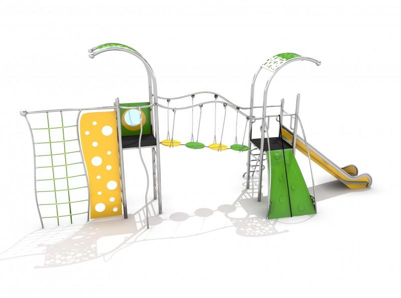 Plac zabaw Plac zabaw metalowe Zestaw Domo 2-3 Play Park