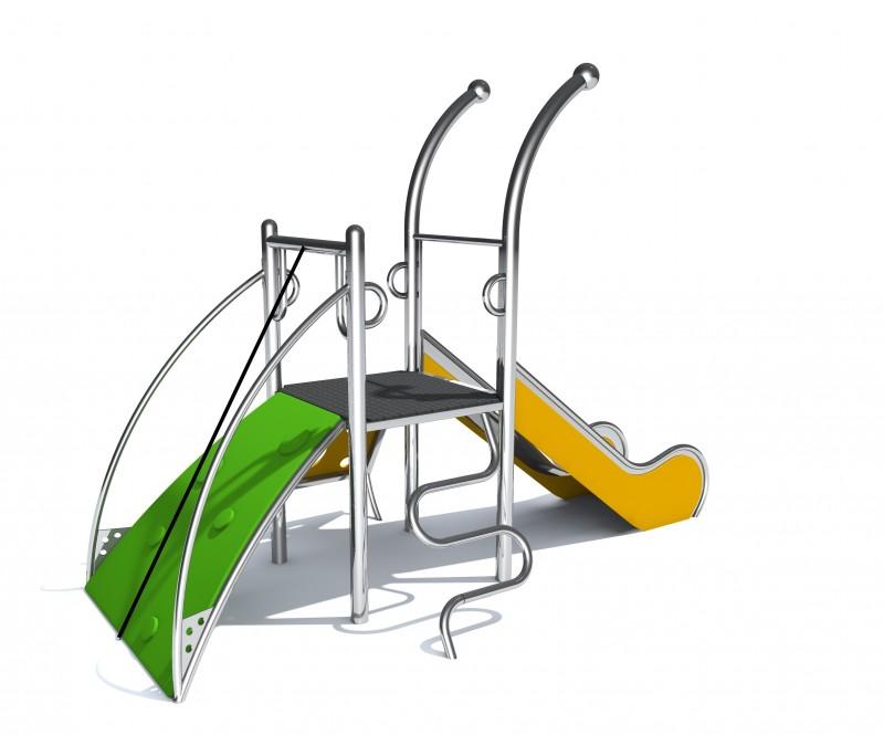 Plac zabaw zjeżdżalnia plac zabaw Dometo 1-1 Play Park