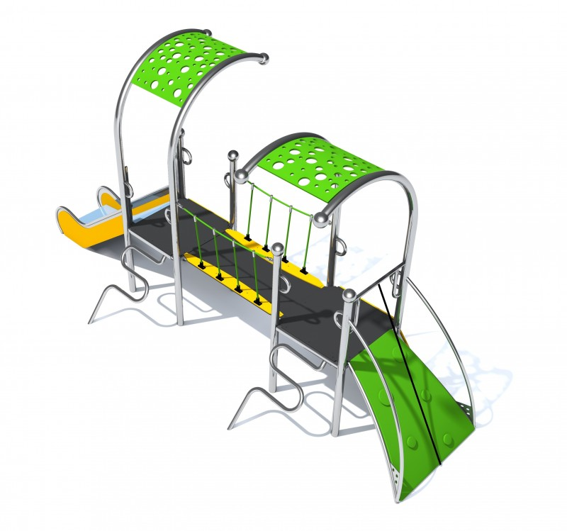 Plac zabaw Place zabaw producent model Dometo 2-1 PLAY-PARK