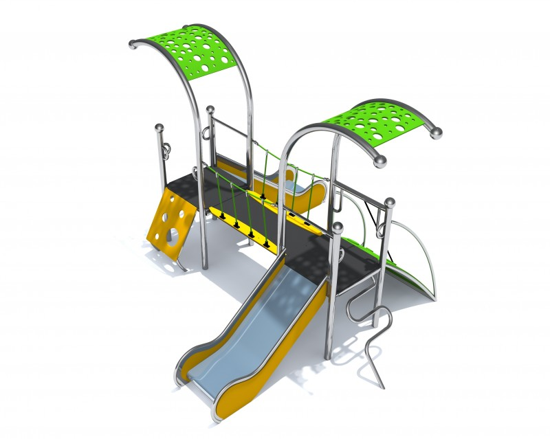 Plac zabaw Place zabaw producent model Dometo 2-2 Play Park